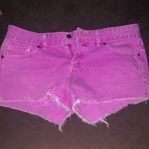 VS PINK! jean shorts sz 4
